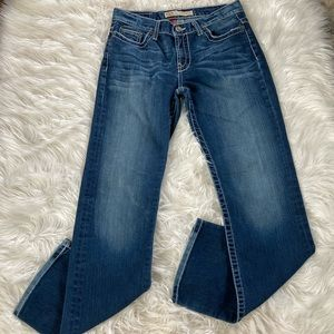 BKE Drew Mid Rise Bootcut Jeans